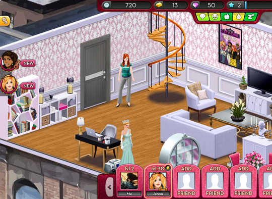 5 fun fashion virtual worlds article virtual worlds land for Virtual house building games online