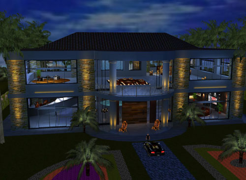 Own A Luxury House in IMVU