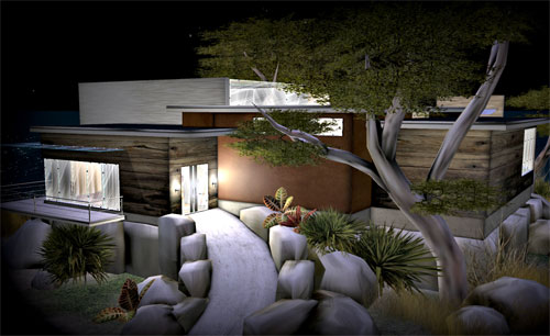 Stunning Second Life House