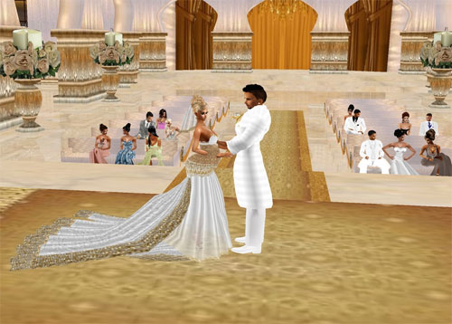Get Married in IMVU