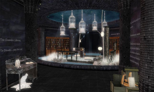 Enjoy the Chamber Library in Second Life