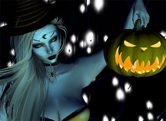 Halloween Approaches in IMVU