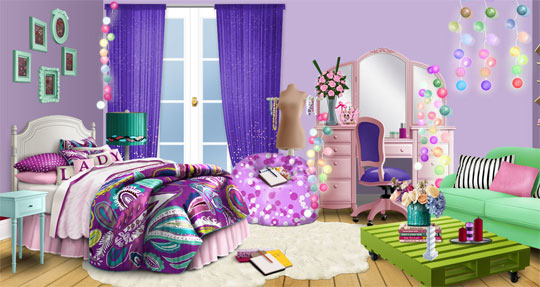 Decorate your Room in Lady Popular