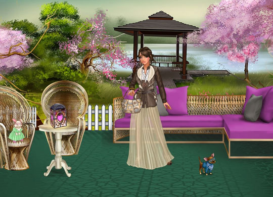 Enjoy the Asian Theme in Lady Popular