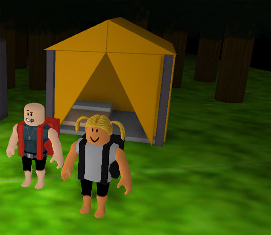 Go Camping in Roblox