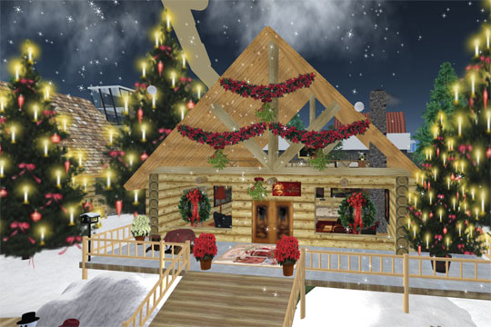 Enjoy Christmas in Second Life