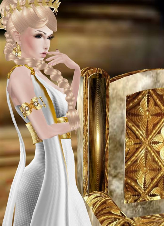 Beautiful Classic Greek Look in IMVU