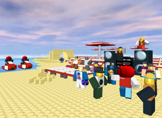 Beach Party in Roblox