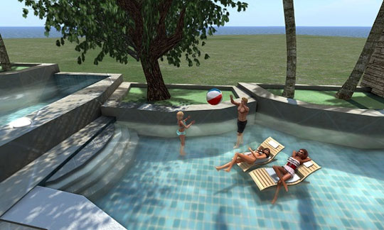 Enjoy the Good Life in Second Life