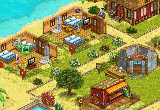 My sunny resort virtuell worlds land for Virtual house building games online