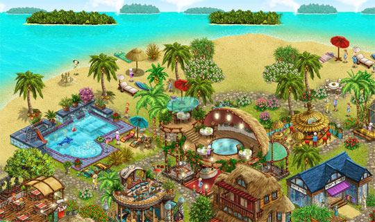Build a Stunning Island Paradise in My Sunny Resort