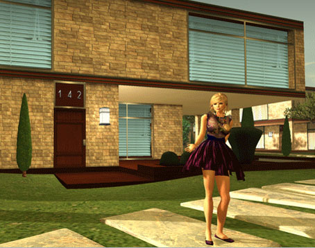 Own & Decorate a Mansion in Second Life