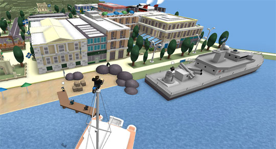 Amazing Port in Roblox