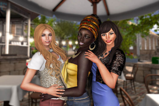 Hang Out With Your Friends in Second Life