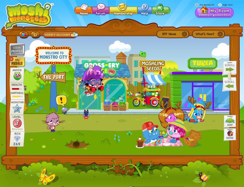 Virtual Worlds for Children Virtual Games Online