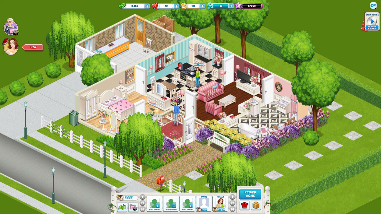 Build Your Own Virtual Home Game Homes Tips Zone