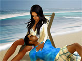 Enjoy the Beach on IMVU!