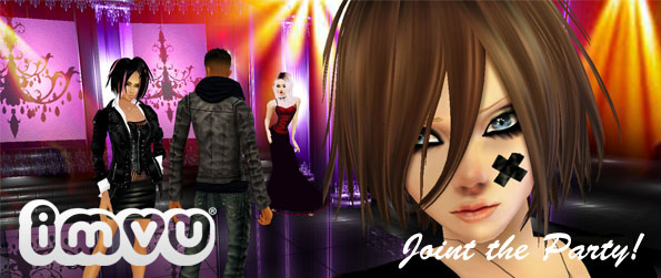 IMVU - Use 3D avatars to Meet New People!