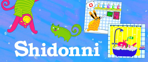Shidonni - Draw your own character and houses in this amazing new children's virtual world.