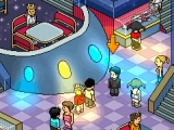 Go dancing in Habbo Hotel