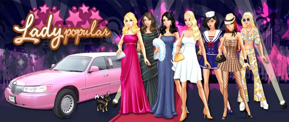 Lady Popular - Strut your stuff in this amazing fashion game, furnish your own apartment while you choose your look.