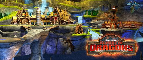 School of Dragons - Choose and ride your own dragon on your quest to become the Ultimate Dragon Trainer