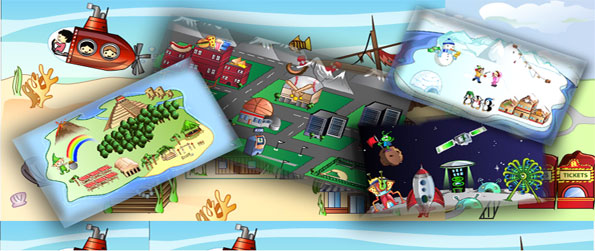 My First World - Build your own website and world full of fun in a free browser game.