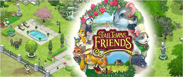 Tail Town Friends - Turn an orchard into a large fun filled town.