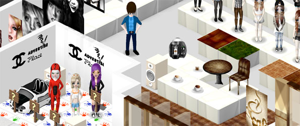 Chit Chat City - Enjoy a world where you can create your own goods to sell.
