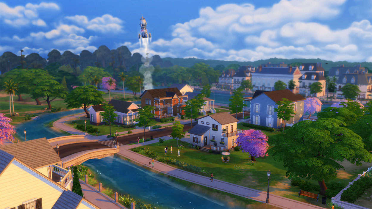 how to sell land on sims 4