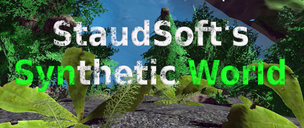 Synthetic World - Build your own paradise in a stunning new world creation game.