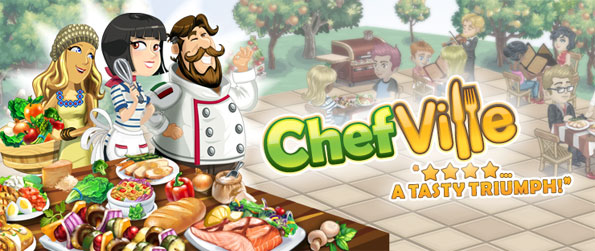 ChefVille - Run your own restaurant in this amazing free sim game on Facebook.