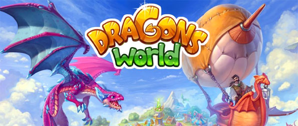 Dragons World - Train your own dragons and raise a floating island full of these cute little creatures.