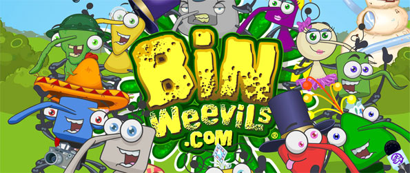 Bin Weevils - Have fun in a brilliant kids virtual world full of games and your own nest to decorate.