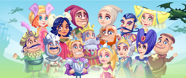 Kingdom Quest - Rebuild your kingdom with the help of your farm and some cute dragons too.