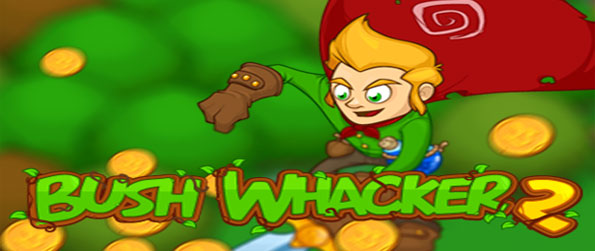 Bush Whacker 2 - Save the princess as you explore a world and collect treasures by beating up innocent bushes.