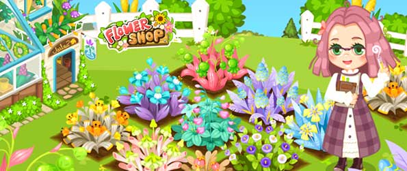 Flower Shop Fun - Be captivated by the colorful world of flowers. Be mesmerized as you manage your own garden field and flower shop business at the same time in Flower Shop Fun!