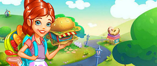 Cooking Tales - Join Chef Audrey serve hundreds of hungry customers in this amazing cooking and time-management game!