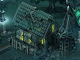 Ghost Tales Haunted Map Motif
