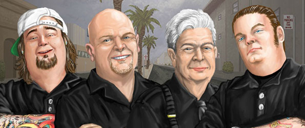 Pawn Stars: The Game - Bid with the gang of original show Pawn Stars in this entertaining and educational game.