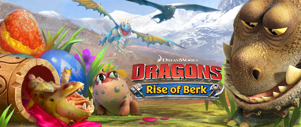 Dragons: Rise of Berk - Revive the island of Berk and bring it to the glorious state that it once was in.