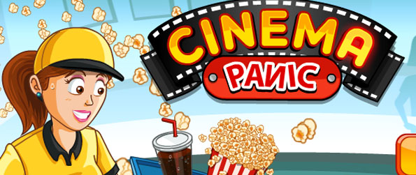 Cinema Panic - Serve cinema goers with popcorns and drinks in this wonderful, free to play time management game in facebook.