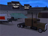 Loading up the cargo in Truck Simulator 3D
