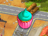 Monument Builders: Alcatraz Cupcake Obstacle